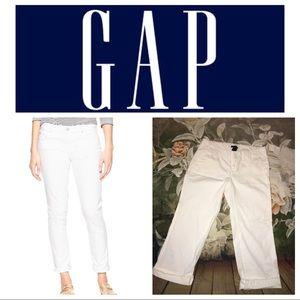 NWT Gap twill Cropped Pants